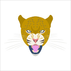 Animal Vector, Animal Illustration, Animal, Animal Head, Animal Face, panther