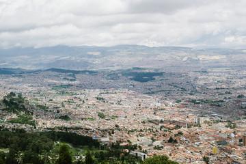 Bogota desde el aire