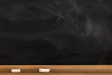 Blank Blackboard Background./Blank Blackboard Background.