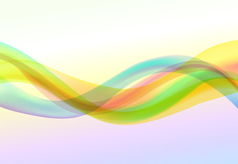 Wave Abstract Backgrounds rainbow