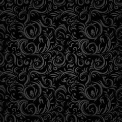 Black stylized pattern