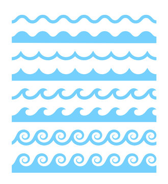 Vector water waves patterns