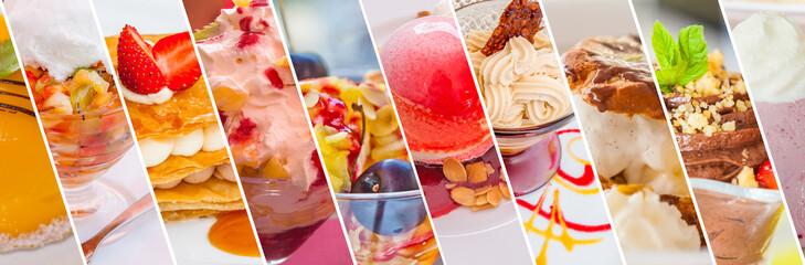 Foto op Canvas Dessert desserts