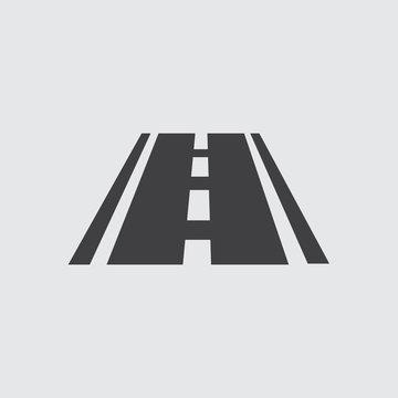 Road Icon, Vector Road Icon Eps10.
