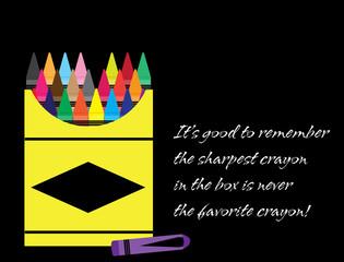 Sharpest Crayon