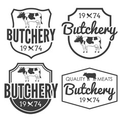 Butcher shop labels
