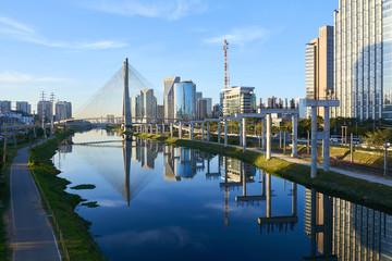 Sao Paulo Estaiada Bridge Brazil