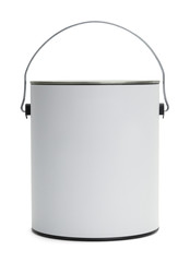 White Paint Bucket