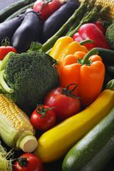 夏野菜イメージ Summer vegetable set