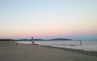 scrivere sulla sabbia