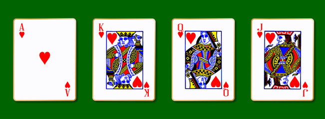 The Royal Hearts Cards