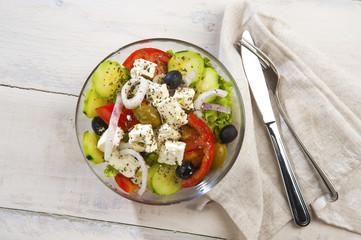insalata mediterranea greca