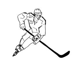 Hockey illustration