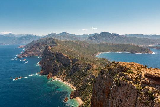 Capo Rosso Korsika Frankreich Corse