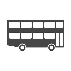 Bus icon vector, logo illustration