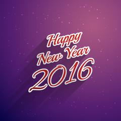 happy new year stylish greeting