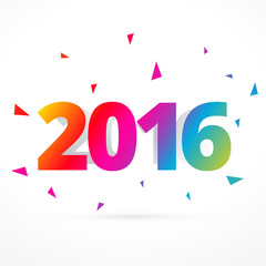 2016 happy new year celebration