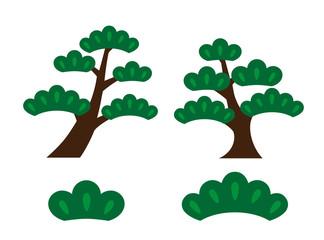 松の木のイラスト
