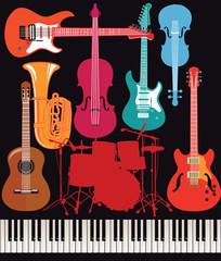 Musikalische Musikinstrument