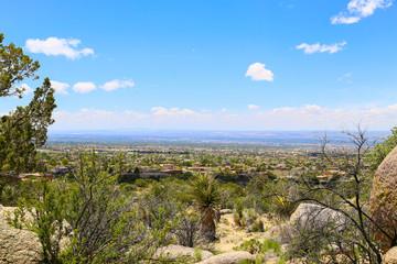 Distant View of Albuquerque
