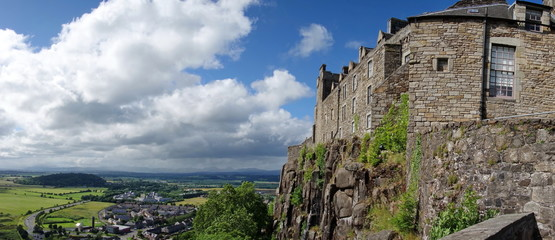 View of Stirling castle, Scotland