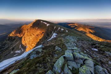 Deurstickers Bergen Low Tatras