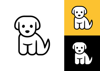 Little puppy icon