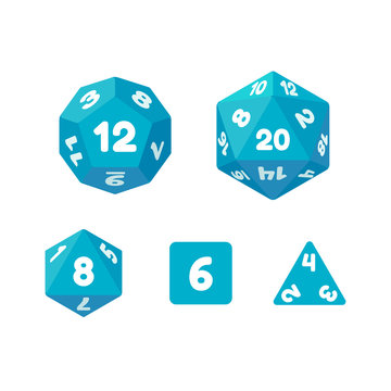 Game dice set