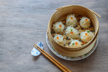 ka Shumai, is steamed squid dumplings made with the paste of squid from Hakodate mixed with ground pork filling, and covered with strips of thin shumai flour ..
