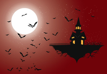 happy halloween from the bats castle