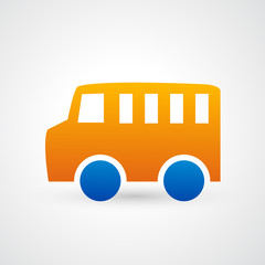 car bus icon