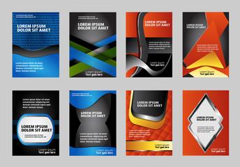 Set of Modern brochure, easy editable