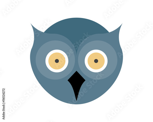 """""""Owl head logo"""" Stock image and royalty-free vector files ..."""