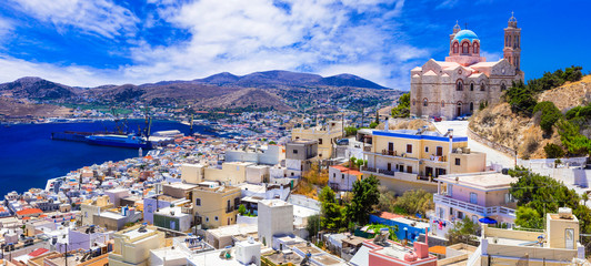 Beautiful islands of Greece - Syros, Cyclades
