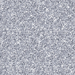 Vector silver glitter texture, seamless pattern.