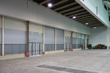 Warehouse Empty Space Interior