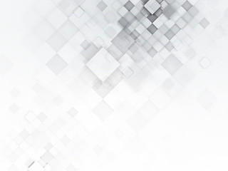 Gray abstract geometric square background for design template