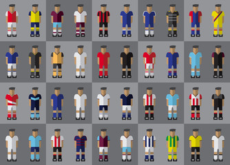 English football team kit season 2016/2017