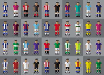 Spanish football team kit season 2016/2017