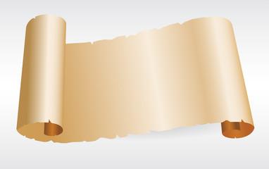 Old blank paper script.