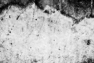 Black and White Abstract damaged old grunge cement background,texture,backdrop