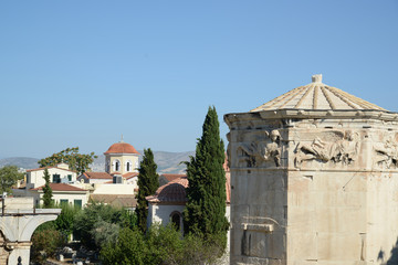 Athens Greece Ancient wind tower