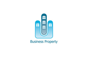 construction business property logo