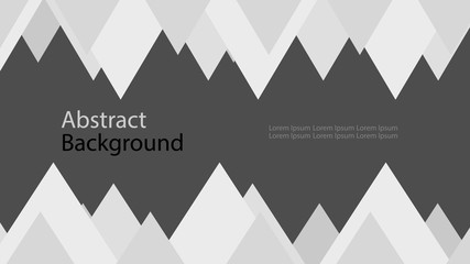 frame gray and white black color background abstract art vector