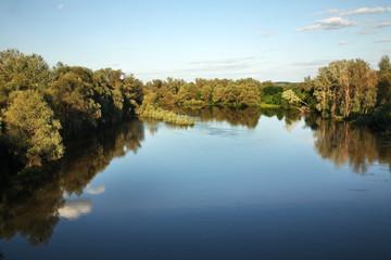 Khopyor river near Povorino. Voronezh Oblast. Russia
