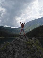 Mountain life in Tyrol Austria