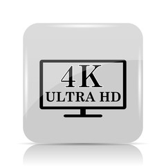 4K ultra HD icon
