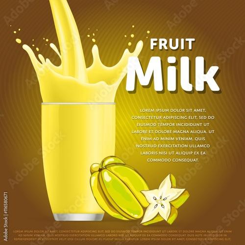 fruit milkshake how to eat star fruit