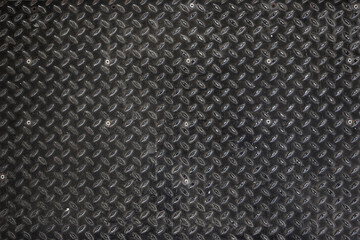 Rusty metal board close up.