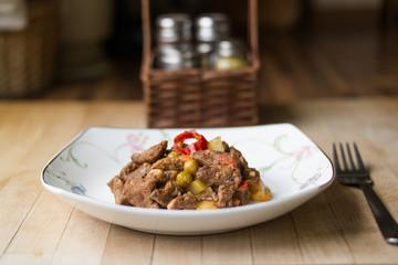 Tas Kebabi / Turkish Meat Food.
